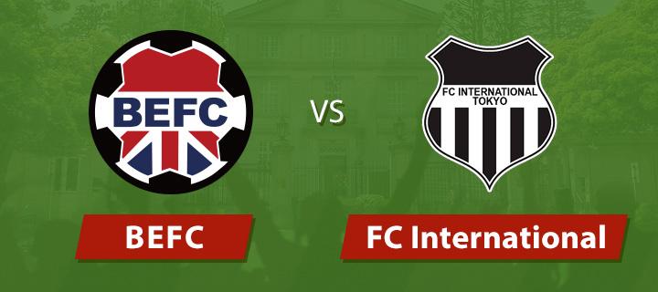 BEFC vs FC International 2018