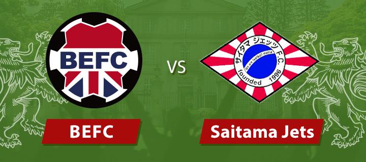 BEFC vs Saitama Jets