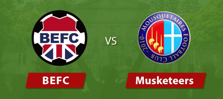 BEFC vs Musketeers