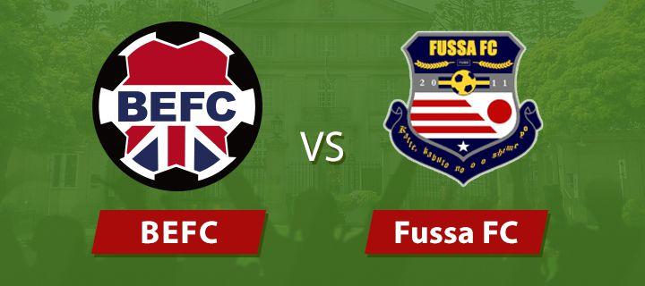 BEFC vs Fussa FC