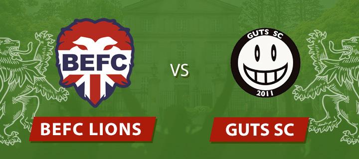 BEFC Lions vs GUTS SC