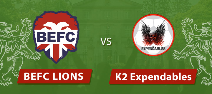 BEFC Lions vs K2 Expendables