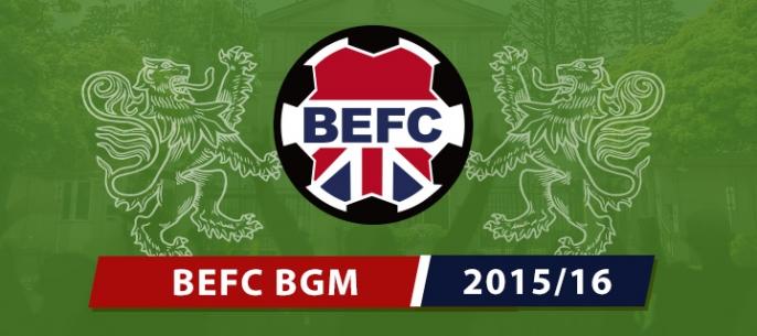 BEFC Half Season Meeting 2016