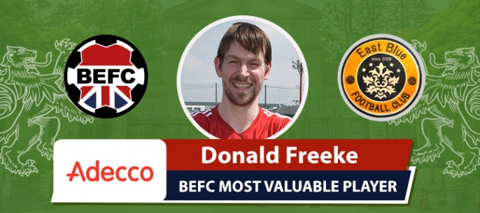 Adecco BEFC Most Valuable Player vs Club East Blue - Donald Freeke