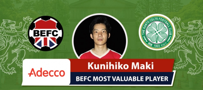 Adecco BEFC MVP vs Real Celts - Kunihiko Maki