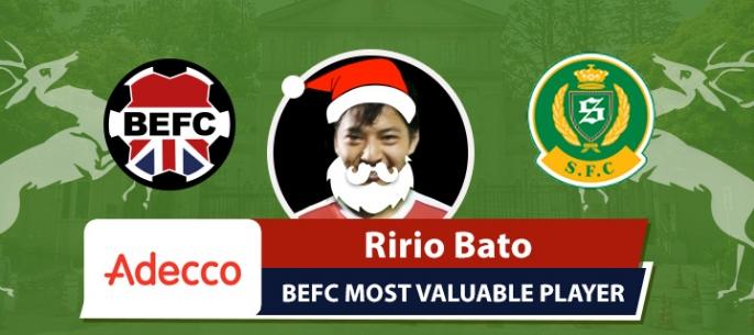 Adecco BEFC MVP vs Shane FC - Ririo Bato