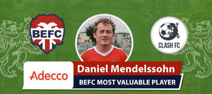 Adecco BEFC MVP vs Clash FC - Daniel Mendelssohn