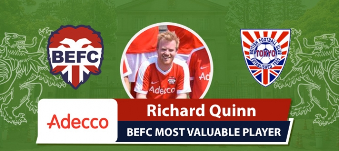 Adecco BEFC MVP vs BFC Vagabonds - Richard Quinn
