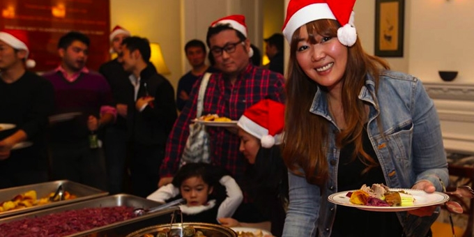 BEFC Christmas Party and Player Awards 2015 - Christmas Spread