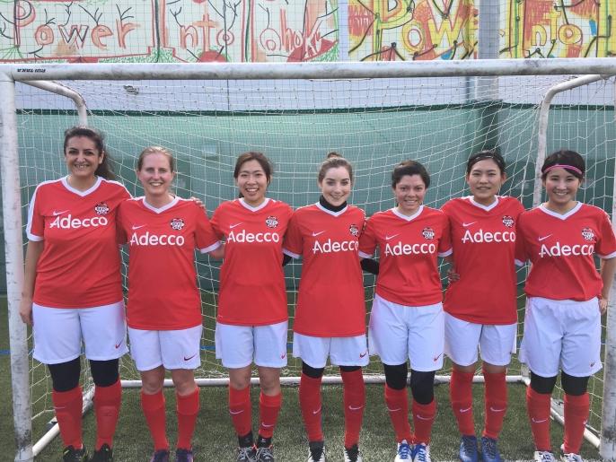 BEFC Ladies - 2018