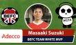 Adecco BEFC White Team MIFA Embassy Cup MVP- Masaaki Suzuki