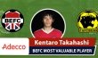 Adecco BEFC Most Valuable Player vs Panthers - Kentaro Takahashi