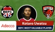 Adecco BEFC MVP vs Pumas - Kotaro Uwatsu