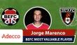 Adecco BEFC MVP vs Sala FC - Jorge Marenco