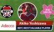 Adecco MVP BEFC Shibuya Smile 8 - Akiko Yoshizawa