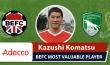 Adecco BEFC Most Valuable Player vs FC Sagarmatha- Kazushi Komatsu