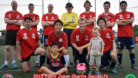 BEFC at the Footy Competitions Japan Charity Soccer 7s 2015