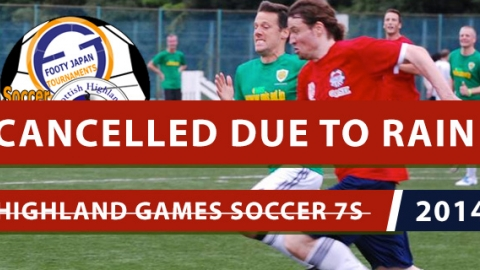 Highland Games Cancelled