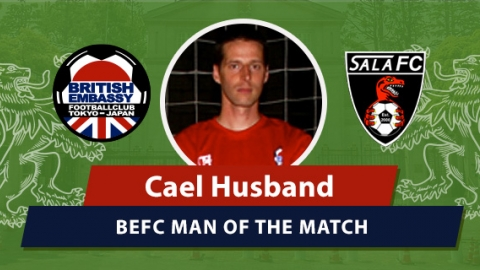 BEFC vs Sala MOM - Cael Husband