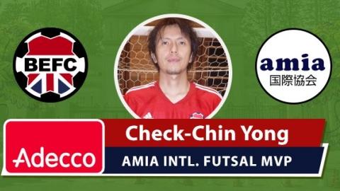 Adecco BEFC MVP Award - Check Chin Yong
