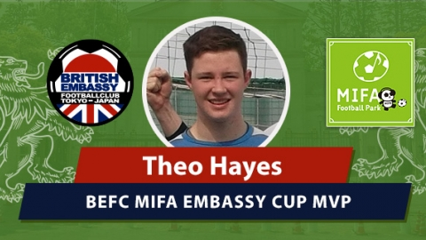 Theo Hayes - BEFC's MIFA Embassy Cup MVP