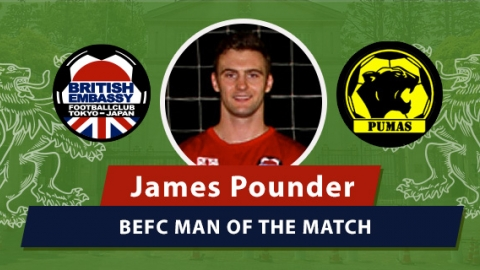 MOM - BEFC vs Pumas - James Pounder