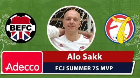 Adecco MVP FCJ Summer 7s 2016  - Alo Sakk
