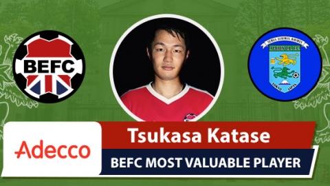Adecco BEFC Most Valuable Player vs Albion Old Boys - Tsukasa Katase