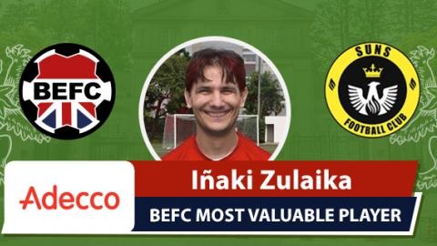 Adecco BEFC MVP vs SUNS - Iñaki Zulaika