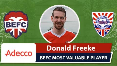Adecco MVP BEFC Lions vs BFC Vagabonds - Donald Freeke