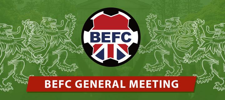 BEFC General Meeting