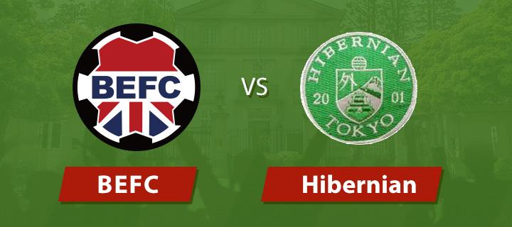 BEFC vs Hibernian