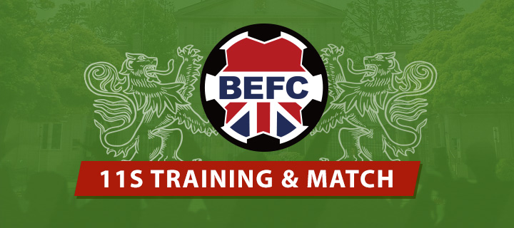 BEFC Tokyo Training and Match