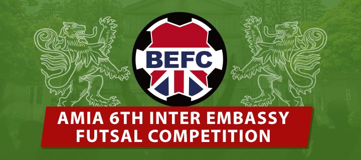 AMIA Inter-Embassy - 6th Tokyo International Futsal Tournament