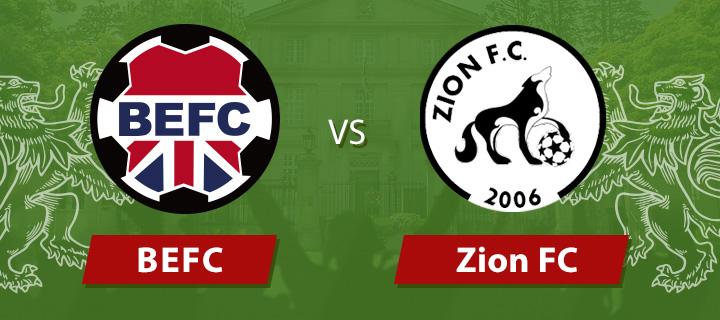 BEFC vs Zion FC