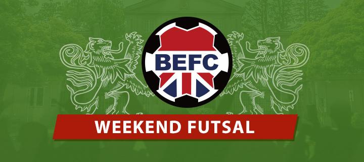 BEFC Weekend Futsal