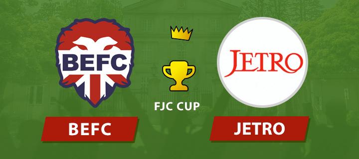 BEFC Lions vs JETRO
