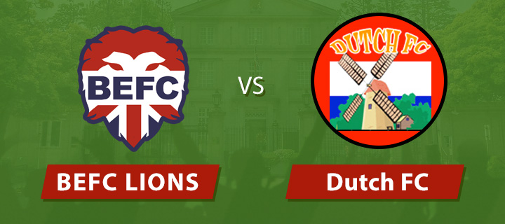BEFC Lions vs Dutch FC