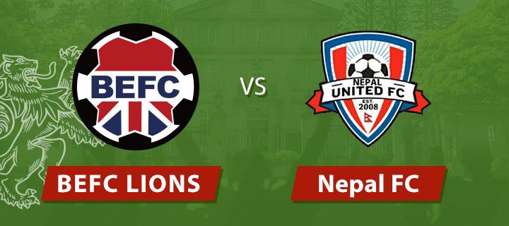 Lions vs Nepal FC