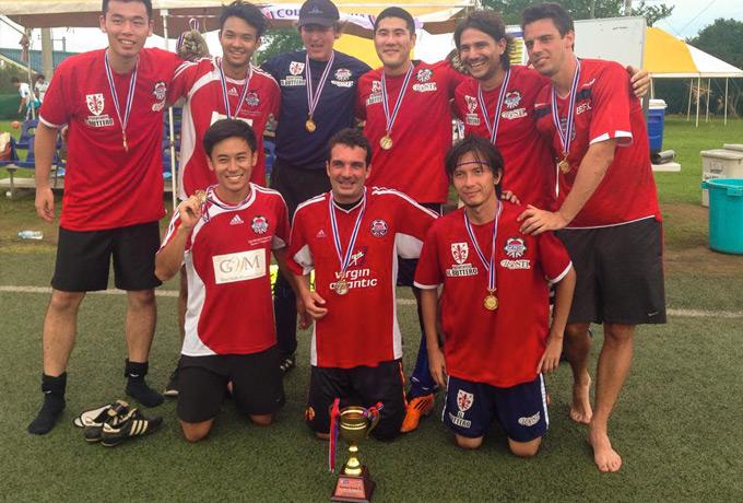 BEFC - Summer 7s winners