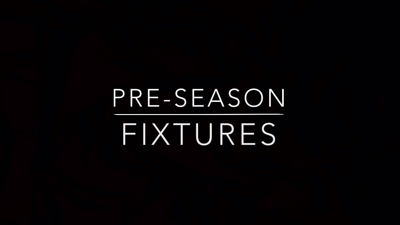 BEFC Pre-season Fixtures