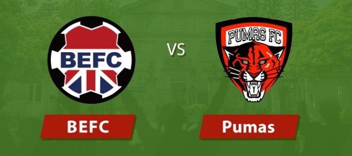 BEFC vs Pumas - PreSeason