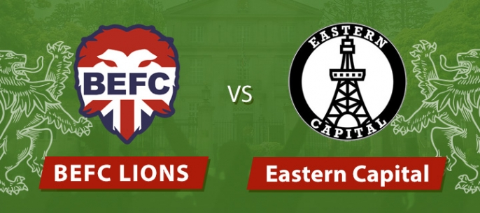 BEFC Lions vs Eastern Capital