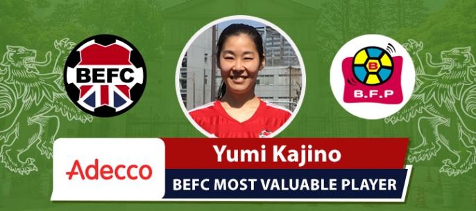 Adecco BEFC Bonfim Ladies Futsal MVP – Yumi Kajino