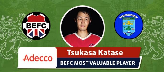 Adecco BEFC Most Valuable Player vs Albion Old Boys - Tsukasa Katase
