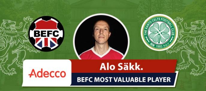 Adecco BEFC MVP vs Real Celts - Alo Sakk