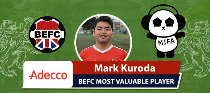 Adecco BEFC MVP MIFA Futsal Competition - Mark Kuroda
