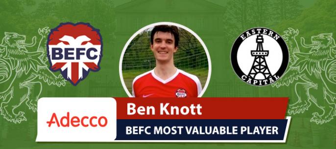 Adecco MVP BEFC Lions vs Eastern Capital - Benjamin Knott