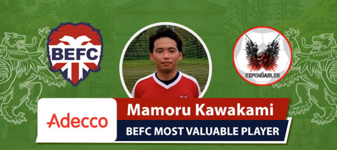 Adecco MVP BEFC Lions vs K2 Expendables - Mamoru Katakami