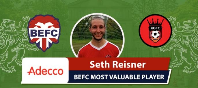 Adecco BEFC MVP vs King George - Seth Reisner